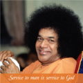 SAI Photo magnet _ Service to Man is Service to God