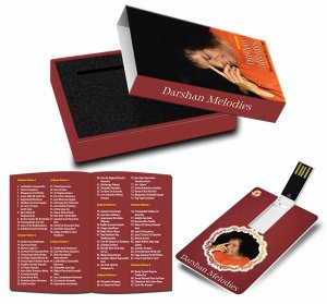 Music Card - Darshan Melodies... Instrumental Bhajans