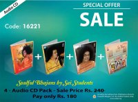 Combo Pack - Soulful Bhajans by Sai Students
