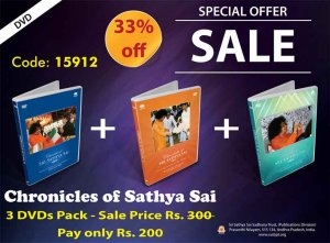 Combo Pack - Chronicles of Sathya Sai