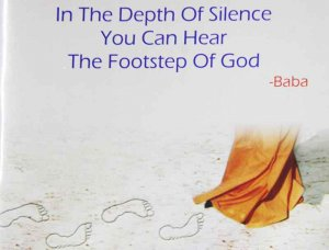 In The Depth Of Silence You Can Hear The Footsteps Of God
