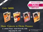 Combo Pack - Music Concerts in Divine Presence